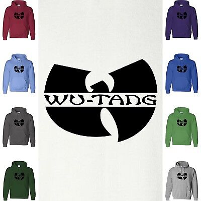 WU TANG CLAN Hoodie Logo Sweatshirt YMCMB Drake Rapper Rap Retro Hooded Sweater • 20.94£