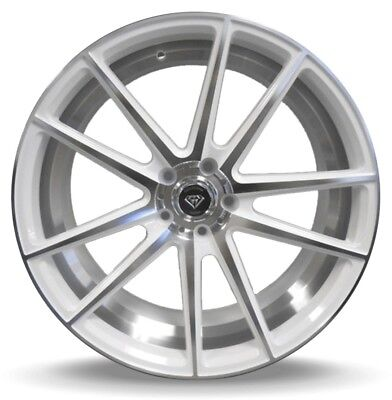 $ CDN1342.49 • Buy 20X8.5 5X114.3 MARQUEE M3197 WHITE W/ Mach Made For Dodge Challenger Infiniti