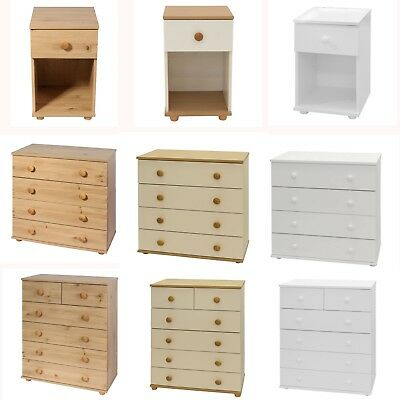 Chest Of Draws Bedroom Furniture Set Hallway Storage Cabinet Drawers Cambridge • 79£