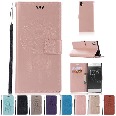 $ CDN13.46 • Buy For Sony Xperia XA1 ULTRA Luxury Leather Flip Magnetic Card Wallet Case Cover