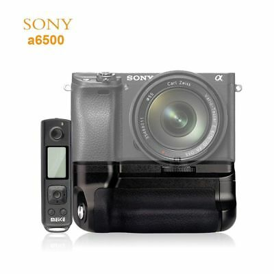 $ CDN84.89 • Buy MK-A6500 Pro 2.4G Wireless Remote Control Vertical Battery Grip For Sony A6500