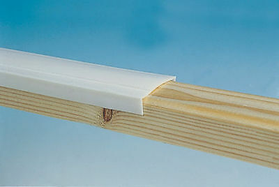 £18.49 • Buy Caravan Window Capping 30mm White 10m Roll FREE Pack Of 10 Decadome Pins PO630
