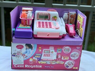£19.99 • Buy Electronic Till Cash Register Toy Pretend Play Super Market Battery Operated Toy