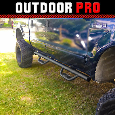 $145.95 • Buy Fit 99-14 Ford F-250 SD Crew Cab H Style Running Boards Nerf Bars Side Step