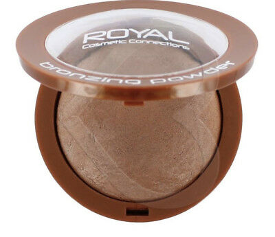 Royal BAKED BRONZER Bronzing Pressed Powder Compact SUNKISSED BRONZE LOOK NEW • 4.99£