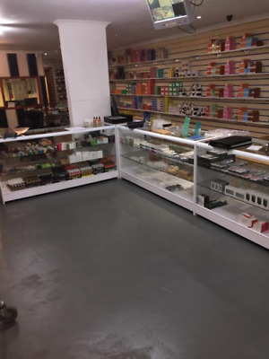 Retail Counter 1800mm - RETAIL DISPLAY COUNTERS - SHOP COUNTERS - (R1511,R1512) • 307.99£