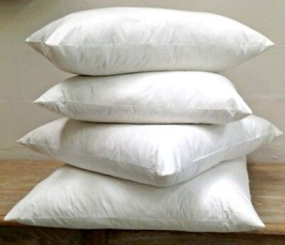 £7.89 • Buy Extra Filled Duck Feather Cushion Inner Pads Insert Fillers Handmade Top Quality