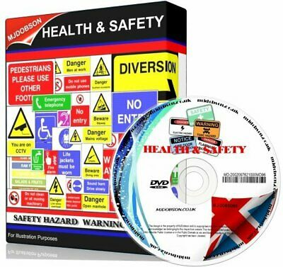 £5.95 • Buy Health And Safety Hazard & Warning Signs + Posters Dvd