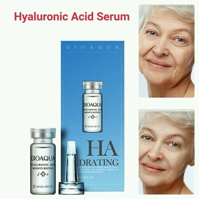 HYALURONIC ACID Serum 100% Natural Pure Firming Collagen Strong Anti Wrinkle UK • 4.99£