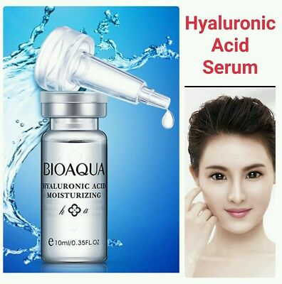 Strong Anti Wrinkle HYALURONIC ACID Serum 100% Natural Pure Firming Collagen UK • 4.99£
