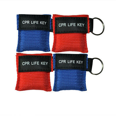 £8.60 • Buy 12pcs/pack CPR Face Shield One Way Valve Keychain Resuscitation Training Shield