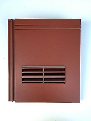 Roof Tile Vent To Fit Redland Stonewold II Mk2 | Red Smooth | 10 Colours • 44.99£