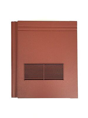 Roof Tile Vent To Fit Redland Stonewold II Mk2 | Red Granular | 10 Colours • 44.99£
