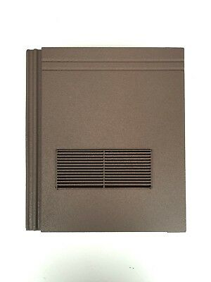 Roof Tile Vent To Fit Redland Stonewold II Mk2 | Brown Granular | 10 Colours • 44.99£