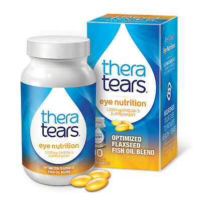 AU40.19 • Buy Thera Tears Eye Nutrition Omega 3 Supplement With Vitamin E 90 Soft Gel Capsules