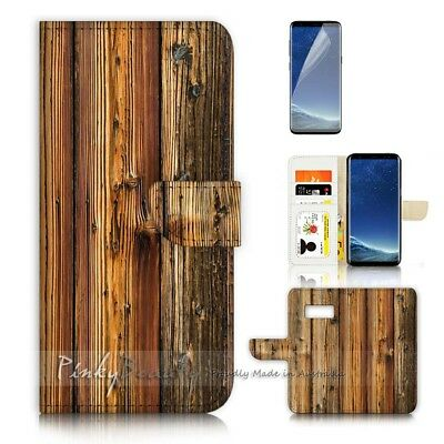 AU12.99 • Buy ( For Samsung S8 Plus / S8+ ) Case Cover P21382 Wood Pattern
