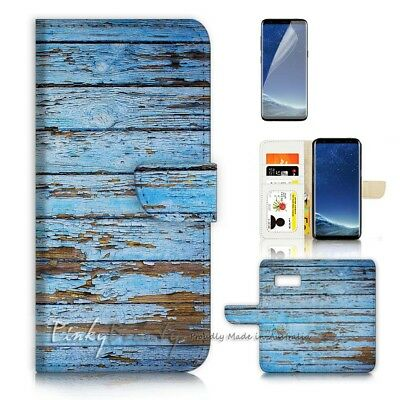 AU12.99 • Buy ( For Samsung S8 Plus / S8+ ) Case Cover P21383 Wood Pattern