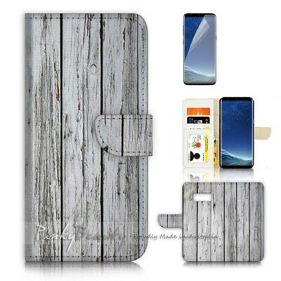 AU12.99 • Buy ( For Samsung S8 Plus / S8+ ) Case Cover P21384 Wood Pattern