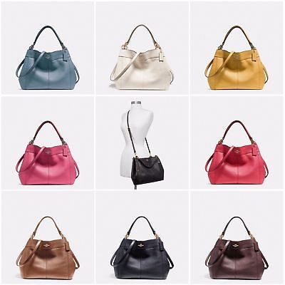 3d39a365875b8 New Coach F23537 F28992 Small Lexy Shoulder Bag In Pebble Leather New With  Tags • 129.99