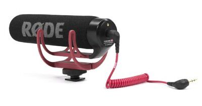 R?DE VideoMic GO On Camera Microphone - Black/Red Japan Import • 89.69£