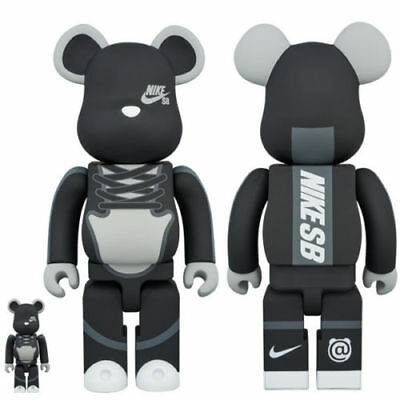 $959.96 • Buy Nike X Medicom BE@RBRICK 100% 400% Toy SEALED RARE LIMITED Dunk SB Bearbrick