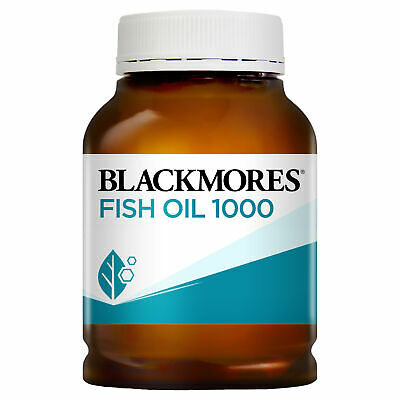AU28.69 • Buy Blackmores Fish Oil 1000mg Capsule 400 Omega 3 Natural Source Dietary Supplement