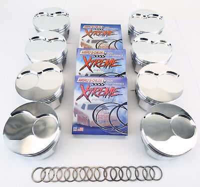 AU886.92 • Buy Oldsmobile 455 +.030  Bore Forged Piston And Ring Set