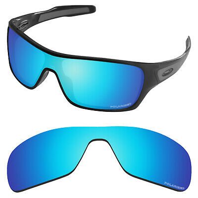 AU33.99 • Buy Polarized Replacement Lenses For-Oakley Turbine Rotor OO9307 Sky Blue (PRM)