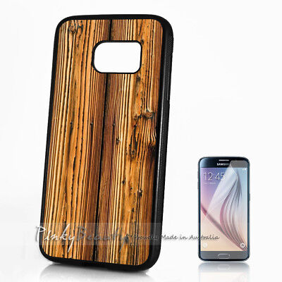 AU9.99 • Buy ( For Samsung S8 Plus / S8+ ) Case Cover P11206 Wood Pattern