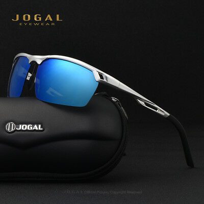 AU11.81 • Buy JOGAL Men's Sport Sunglasses Polarized Driving Fashion Eyewear Cycling Glasses