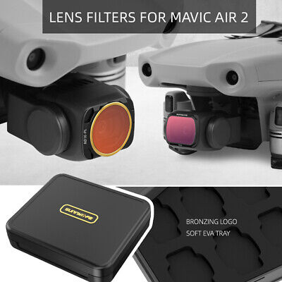 AU73.99 • Buy Professional MCUV+CPL+ND4+ND8+ND16+ND32 Camera Lens Filter For DJI Mavic Air 2
