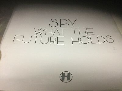 Slim Plastic  Soft Sleeve Spy What The Future Holds  Cd Lp Preview Tracks Only • 7.24£