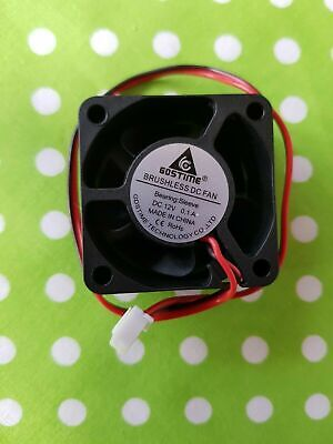 1pc Brushless DC Cooling Fan 40x40x20mm 4020 5 Blades 12V 2pin  0.1A  UK Seller. • 5.99£