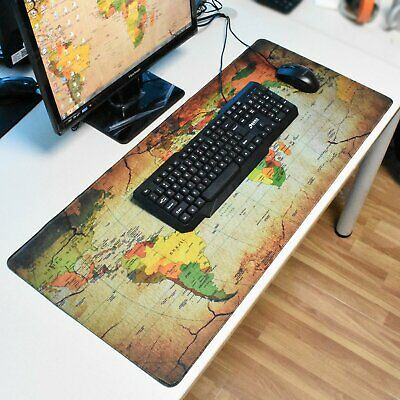 AU17.99 • Buy Large Size Gaming Mouse Pad Desk Mat Extended Anti-slip Rubber Speed Mousepad AU