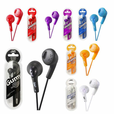 JVC Earphones HAF160 Gumy Bass Boost Stereo For IPod IPhone Android • 6.50£