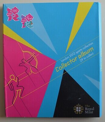 £26.99 • Buy 2012 London Olympic Games 50p Sports Collection Empty Album - NO COINS