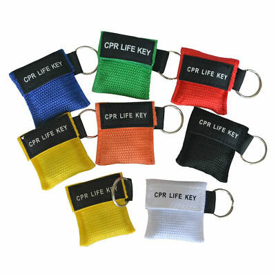 £1.43 • Buy 1pc CPR Life Key CPR Face Barrier CPR Face Shield First Aid Training Multi Color