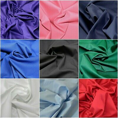 £7.89 • Buy Plain 100% Cotton Drill Twill 60  150cm Wide Clothing Craft Upholstery Fabric
