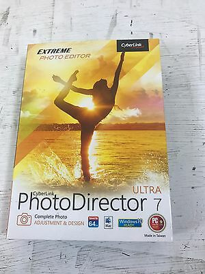 CyberLink PhotoDirector Ultra - Version 7 - DVD • 9.99£