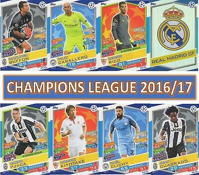 £0.99 • Buy Topps Champions League Match Attax 2016 2017 16 17 Choose Your Card #1 - #198