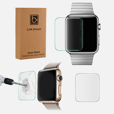 $ CDN1.79 • Buy Apple Watch SERIES 3 Ultra Thin Clear Tempered Glass Screen Protector 38/42mm OU