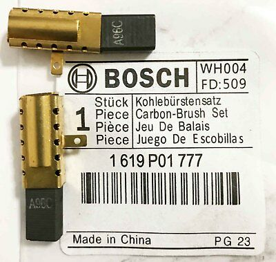 £7.50 • Buy Genuine Bosch Carbon Brushes Pair For PBH 2200 RE GBH 2-18 RE SDS Drill S33