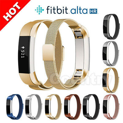 AU11.85 • Buy Stainless Steel Replacement Spare Magnetic Band Strap For Fitbit Alta / Alta HR