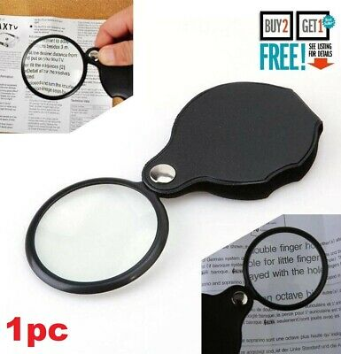 10x Pocket Hand Sized Monocle Magnifying Magnifier Foldable Loupe Glass Loop  • 2.99£