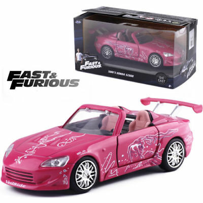 AU34.95 • Buy Jada 1:32 Fast And Furious Suki's Honda S2000 Pink Diecast Model Vehicle Car Toy