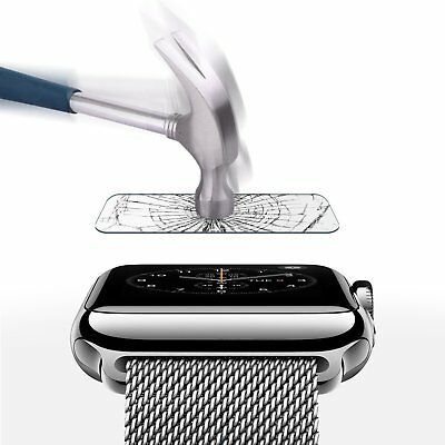 $ CDN4.83 • Buy Apple Watch IWatch Screen Tempered Glass Protector Series 1 2 3 38mm 42mm