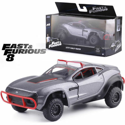 AU26.95 • Buy Jada 1:32 Fast And Furious 8 Letty's Rally Fighter Grey Diecast Model Car Toy