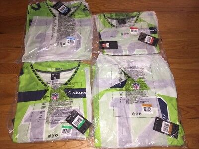 12th Man Fan Color Rush Legend Neon Green Seahawks Jersey - M b3b0afb25