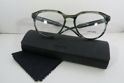 447919bb04 Prada Women s Green Glasses With Case VPR 18S UEP-1O1 Journal 53mm • 76.95