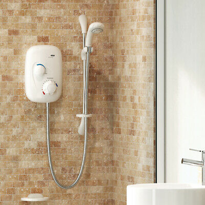 £418.35 • Buy Mira Event XS Thermostatic Electric Power Shower White & Chrome 1.1532.400